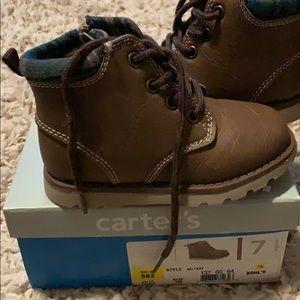 Carter Boy lined boot